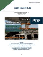 3jCabin-Sounds 1.13 - Documentation