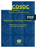 RT 3- Globalization and Labour Migration