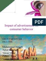 Impact of Advertisement (Stats Problem)