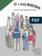 Manual El Derecho a Tener Derechos 2da Ed