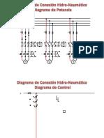 Diagrama - De Potencia y Control Hidroneumatico