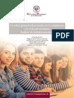 La salud general relacionada con la adaptación a la vida universitaria