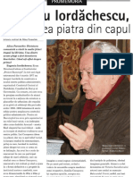 """Eugeniu Iordăchescu, inginerul care nu a trecut cu vederea """"piatra din capul unghiului"""" – Hristos."""
