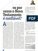 Quantos por cento o Novo Testamento é confiável? - Norman Geisler