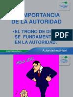 01 La Importancia de La Autoridad