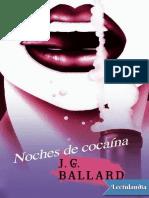 Noches de Cocaina - J G Ballard