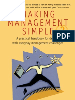 Making Management Simple