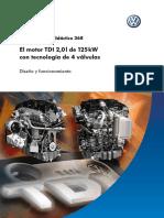 Ssp368 El Motor TDI 2,0l de 125 KW Con Tec de 4 Valvulas