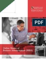 UMD MBA