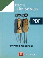 Agacinski Sylviane, Política de sexos.pdf