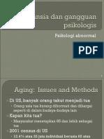 Gangguan Mental Organis & Aging Pd LaNSIA