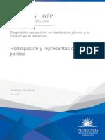 Diagnóstico prospectivo en brechas de género y su impacto en el desarrollo