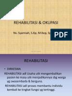 REHABILITASI & OKUPASI