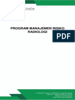 Program Manajemen Risiko Radiologi.