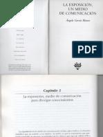 Garcia Blanco- La Exposición Medio de Comunicación