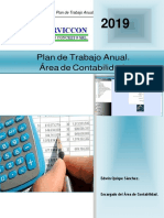 Plan de Trabajo de La Unidad de Contabilidad 2019