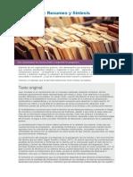 Actividad 3 - Resumen y Sintesis - Curso Comprensión Lectora