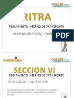Reglamento Interno de Transporte