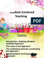Student Centered Teaching