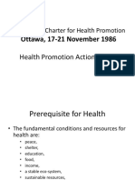 The Ottawa Charter for HP, 5 Sarana Aksi