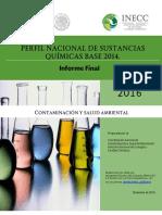 Perfil nacional de sustancias
