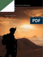 Determinantes demandas de de Doutch para militar spending