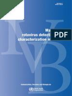 OMS 2009 Manual de detección de rotavirus y métodos de caracterización.