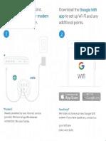 Google Wifi-Guia Rápido de Instalação