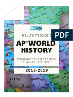 Ultimate Guide to AP World History 2018-2019