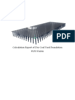 Calculation Report of Dry COal Yard