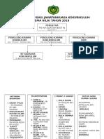 Carta Organisasi Kokurikulum 2019