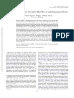 Aggression in Borderline Personality Disorder. a Multidimensional Model.