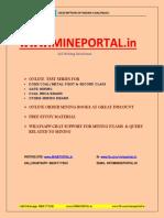 Description of Indian Coalfield