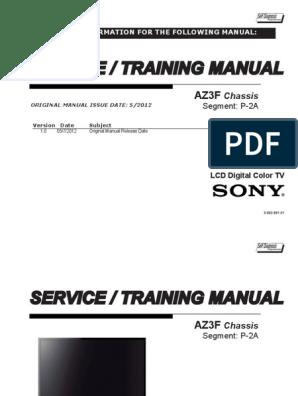 Mode Demploi Tv Sony Af8