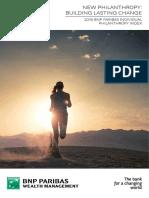 Indice BNP Paribas Philanthropie Individuelle
