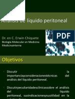 analisis de liquido peritoneal