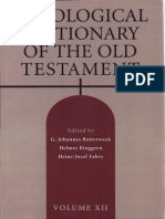 Theological Dictionary of the Old Testament 12