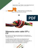 Diferencias entre cable UTP y FTP   Blog de telecomunicaciones  TDT y satélite   TDTprofesional.pdf
