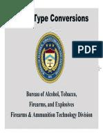 AR15 Full Auto Conversions ATF FOIA