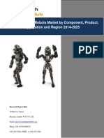 Global Humanoid Robots Market by Component, Product, Application and Region 2014-2025