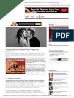 5 Maneiras Fáceis de Deixá-la Pronta Para o Sexo - ConversaDeHomem.com.Br