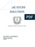 Casestudy Solution