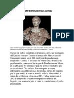 El Emperador Diocleciano