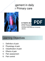 Pain Management for Primary Care Final 2016- Dr. Suparto