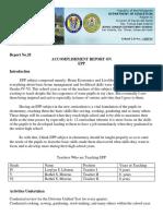 Accomplishment Report Epp