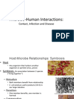 CH 11 Microbe-Human Interactions