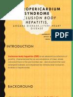 Hydropericardium Syndrome
