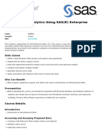 Applied Analytics Using Sasr Enterprise Minertm