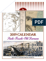 2019 calendar - Scala-Touzla-Old Larnaca (English)