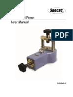 2I 03940 5 Mini Pellet Press